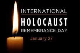 International Holocaust Remembrance Day – January 27, 2021